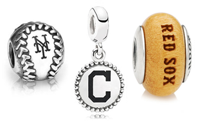 PANDORA MLB Charms and Beads