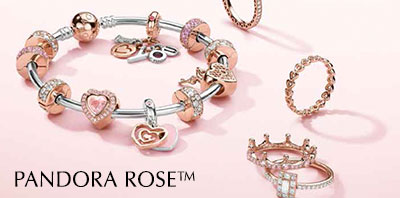 PANDORA ROSE™ Charms and Jewelry Collection