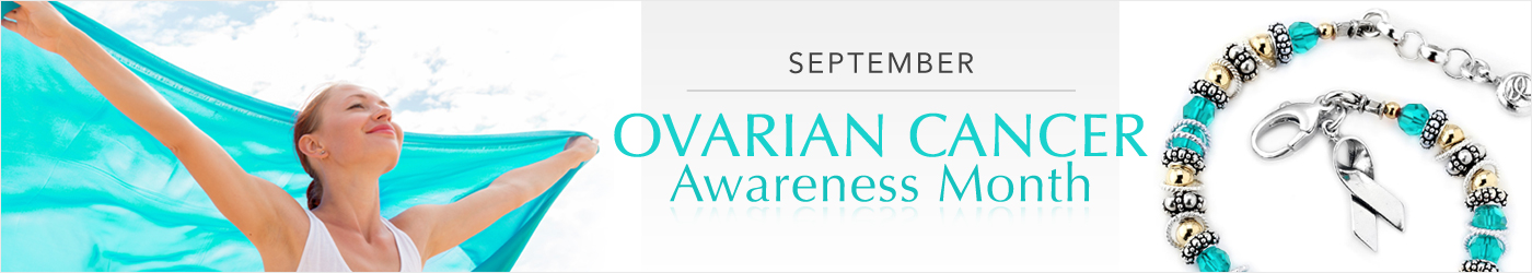 Ovarian Cancer Awareness Jewelry