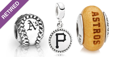 PANDORA MLB Baseball Charms and Beads