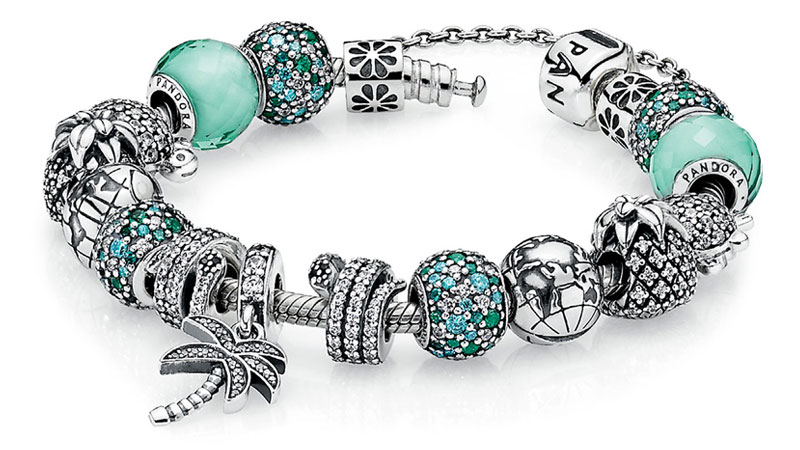 PANDORA Tropical Charms