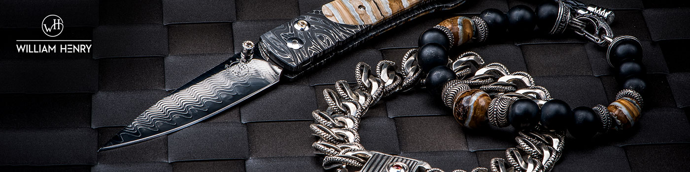 William Henry Collection - Men's Luxury Knives, Pens and Money Clips