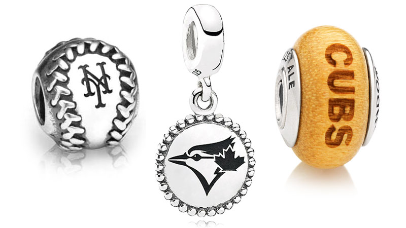 PANDORA MLB Baseball Charms