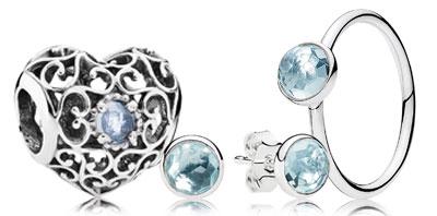 PANDORA Birthstones, Zodiac Charms and Jewelry