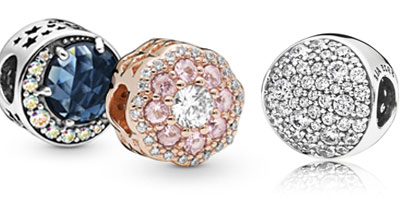 PANDORA Gemstone & CZ Charms