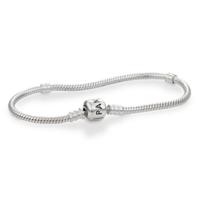 Pandora Sterling Silver With Clasp Bracelet 590702hv Pancharmbracelets