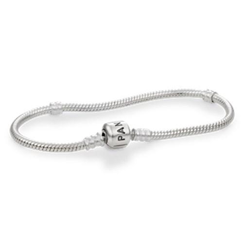 Pandora Sterling Silver With Clasp Bracelet 590702hv