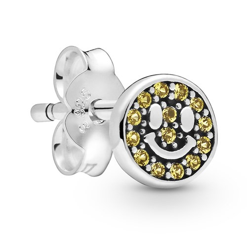 Pandora My Smile Single Stud Earring 298542C01
