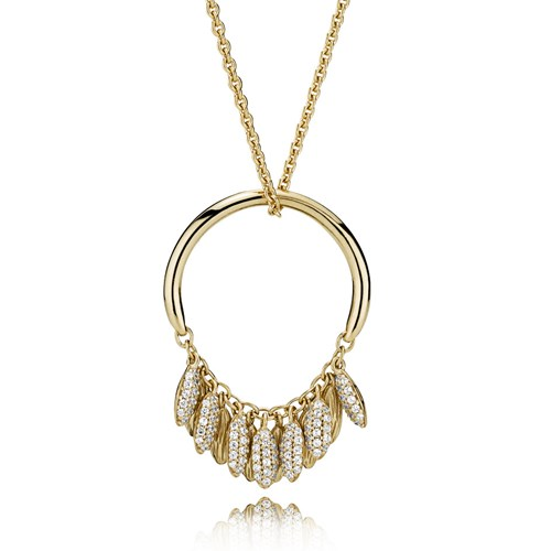 PANDORA Shine™ Circle of Seeds Necklace 367683CZ-60