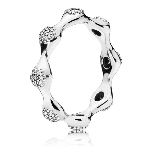 PANDORA Modern Lovepods Ring 197295CZ