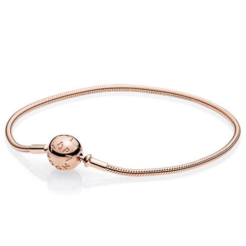 2bbb8bacc PANDORA ESSENCE Rose Gold Bracelet - Pancharmbracelets.com