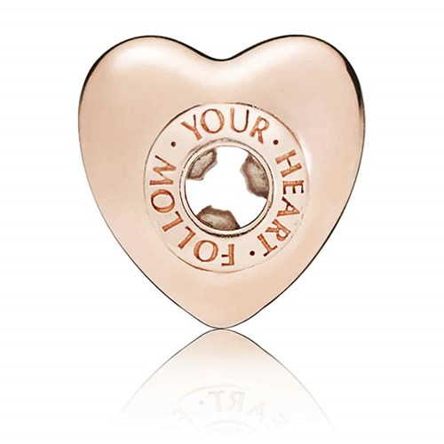 PANDORA ESSENCE ROSE™ Follow Your Heart Charm 787282