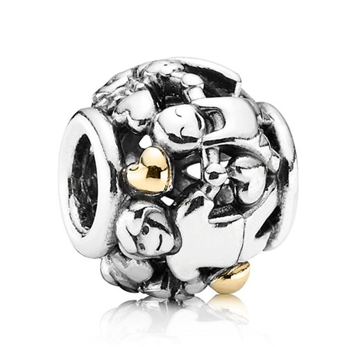 PANDORA Family Forever Hearts with 14K Charm