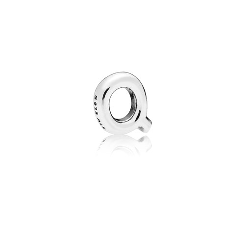 PANDORA Letter Q Floating Petite Locket Charm 797335