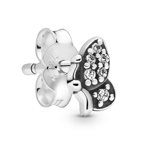 Pandora My Butterfly Single Stud Earring 298540C01
