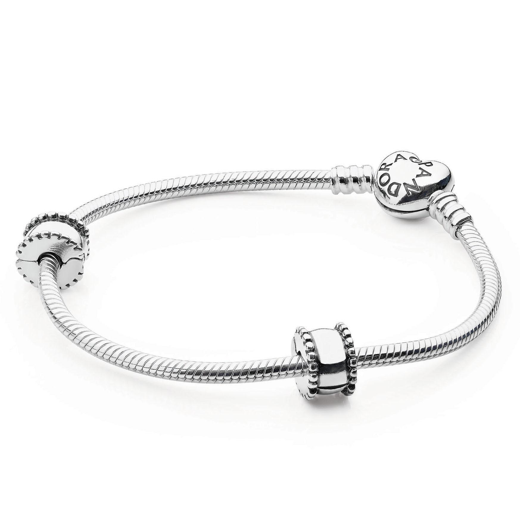 5d0632568 PANDORA Iconic Heart Bracelet Gift Set - Pancharmbracelets.com