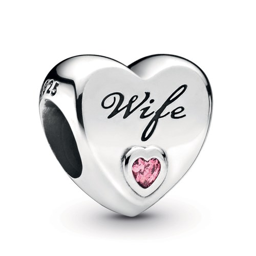 Pandora Wife Love Heart Charm 798249PCZ
