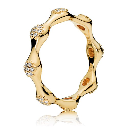 PANDORA Modern Shine™ Lovepods Ring 167295CZ
