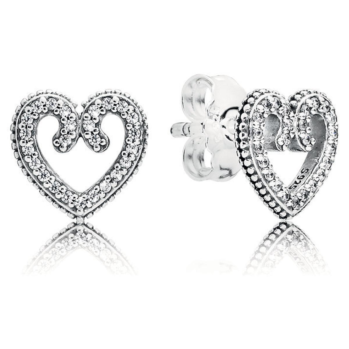 8ebad5480 australia pandora earrings heart shaped football da9ad cfdea