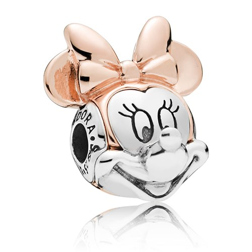 PANDORA ESSENCE Disney Two-tone Minnie Portrait 787504