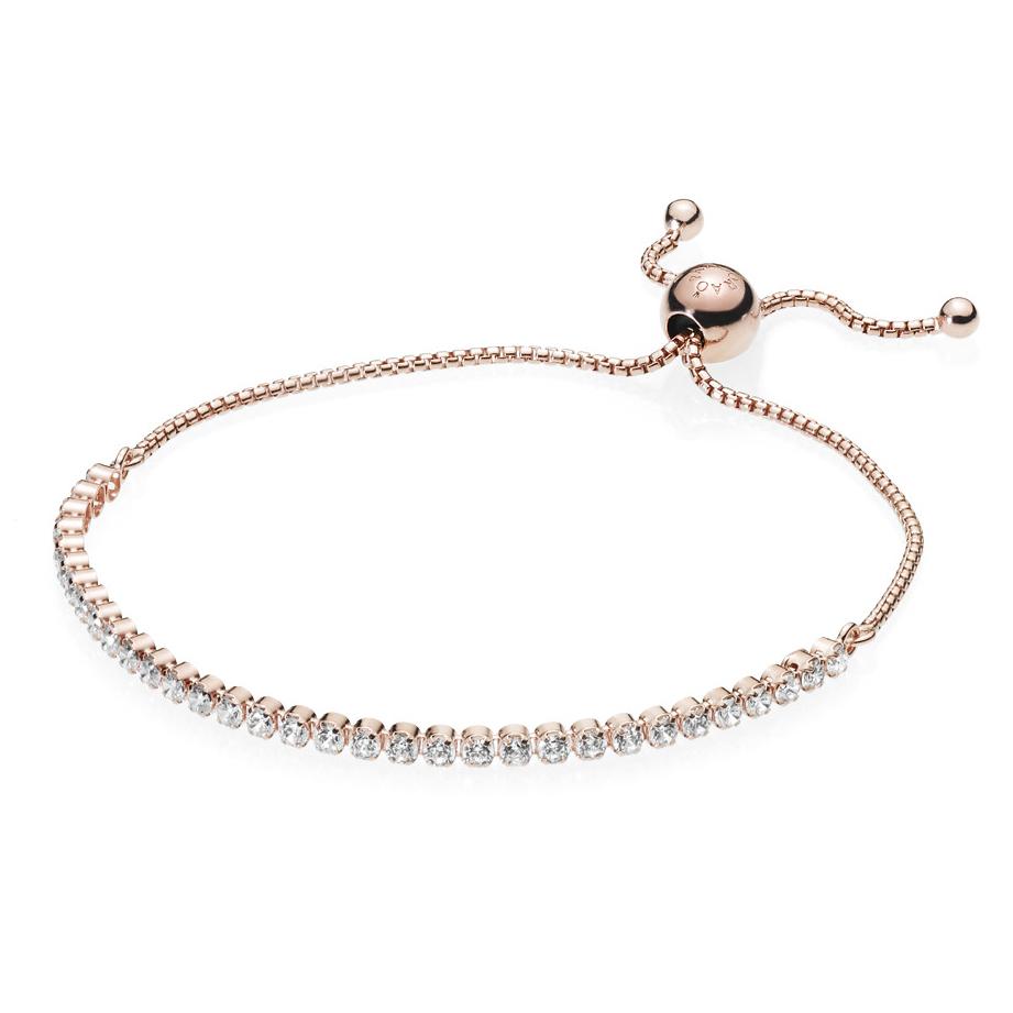 0c236369c PANDORA Rose™ Sparkling Strand Bracelet 580524CZ