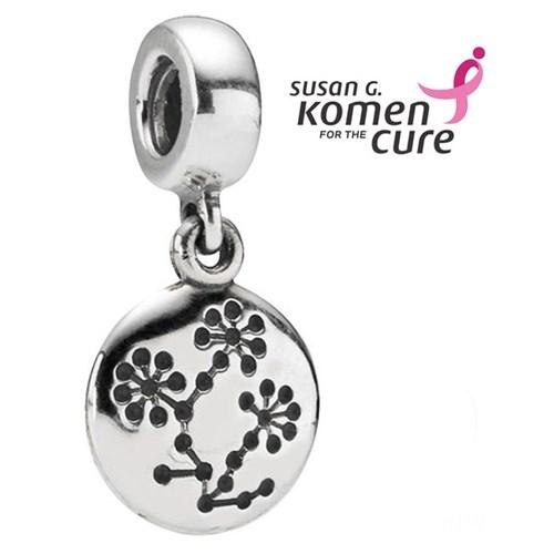 a43b02aec PANDORA Breast Cancer Awareness Lucern Flower Dangle RETIRED ONLY 1  LEFT!-335819 - Pancharmbracelets.com