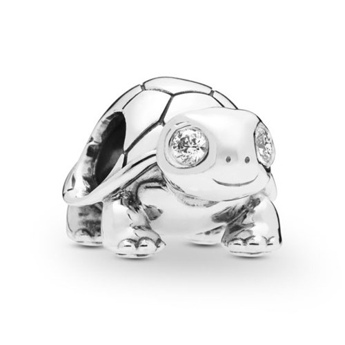 PANDORA Bright-Eyed Turtle Charm 797878CZ