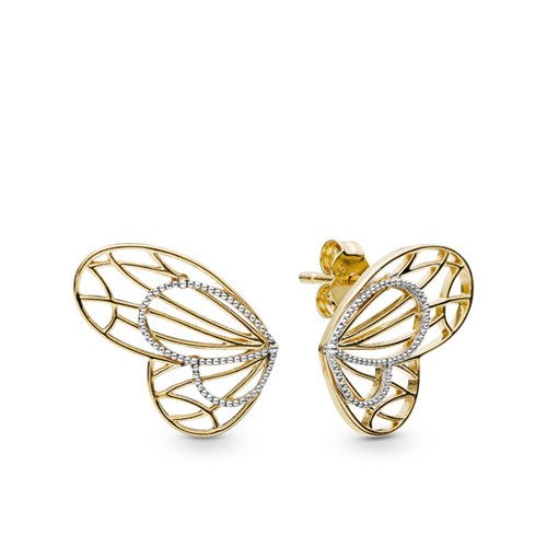 PANDORA Shine™ Openwork Butterflies Stud Earrings 267955
