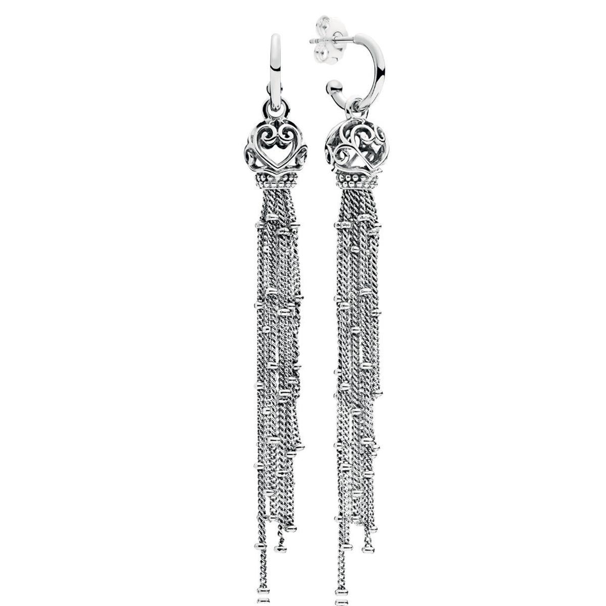 db76ac5c2 PANDORA Elegant Waves Hoop Earrings - Pancharmbracelets.com