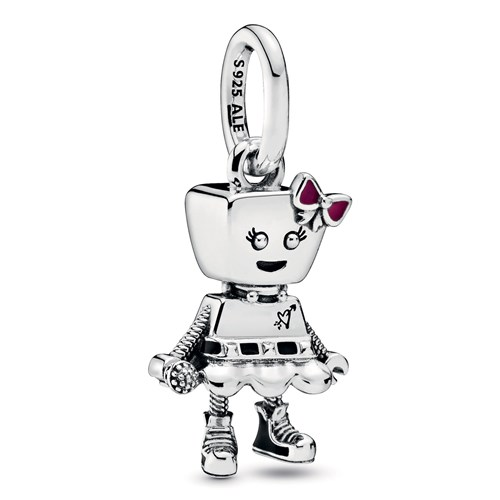 Pandora Bella Bot Punk Band Dangle Charm 798245ENMX