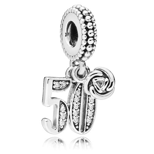 PANDORA 50 Years of Love Dangle Charm 797264CZ