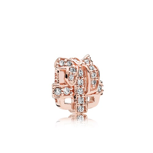 PANDORA Rose™ All Wrapped Up CZ Petite Charm