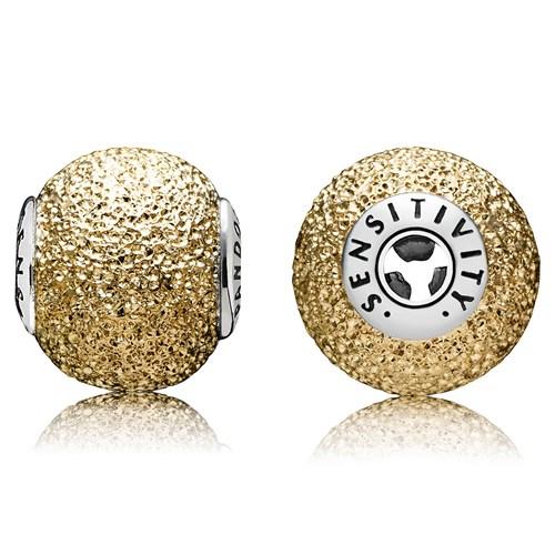 576d0b3e1 ... Bracelet with 14K Gold Clasp PANDORA ESSENCE Collection SENSITIVITY  Charm-348136 ...