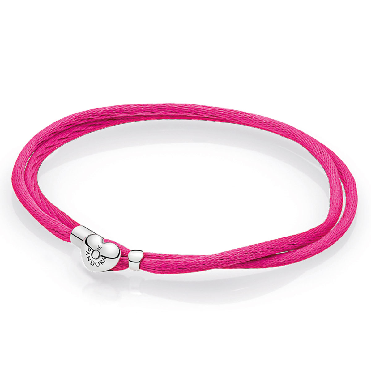 144d6400c ... charm bracelet 8c8b8 d7740 where to buy pandora hot pink fabric cord  bracelet 03850 15ae2 ...