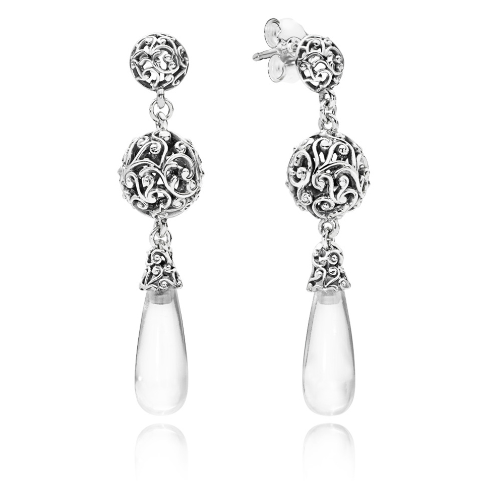 Pandora Regal Droplets Earrings 297686cz