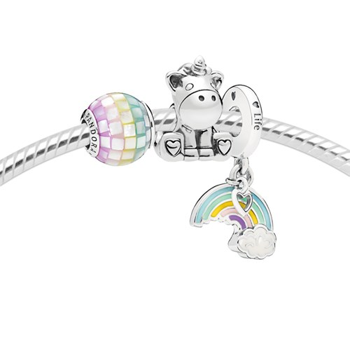 PANDORA My Little Unicorn Charm Set 3634