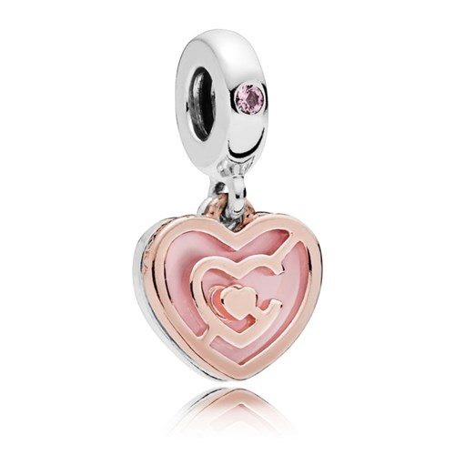 PANDORA Rose™ Path to Love Dangle Charm 787801NBP