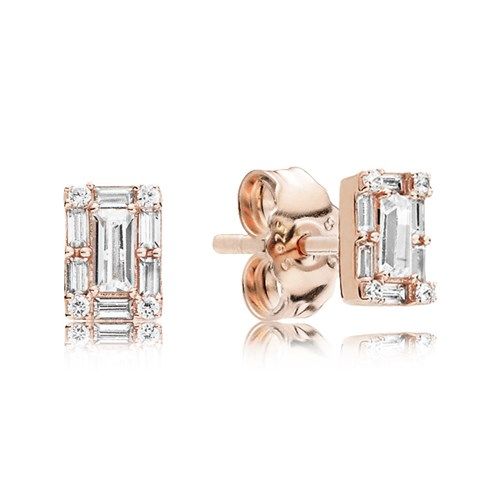 PANDORA Rose™ Luminous Ice Earrings 287567CZ