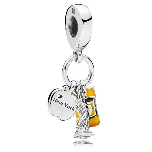 PANDODRA New York Highlights Dangle Charm 797198ENMX