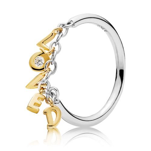 ca6e22cd5 PANDORA Shine™ Loved Script Ring - Pancharmbracelets.com