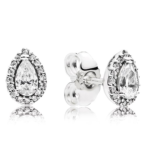 PANDORA Radiant Teardrops CZ Stud Earrings