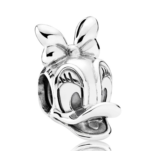 PANDORA Disney, Daisy Duck Portrait Charm