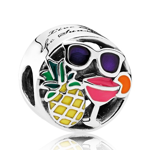 PANDORA Summer Fun, Mixed Enamel Charm