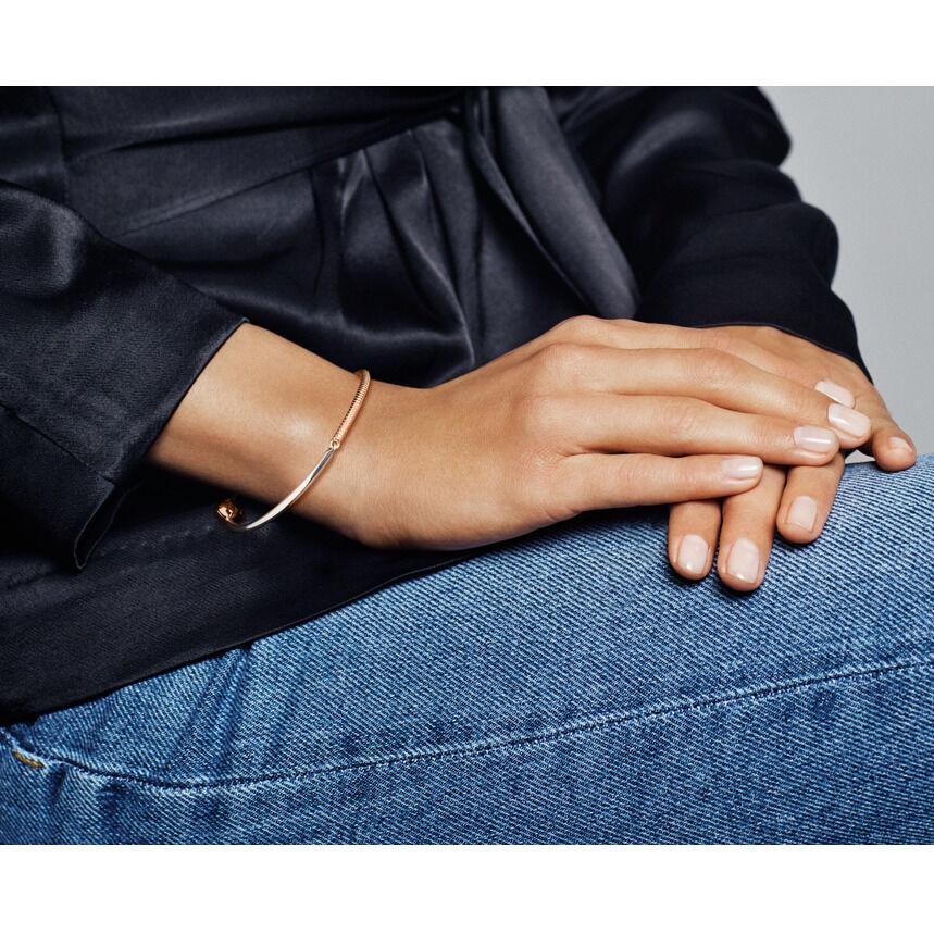 Pandora Rose™ Moments Three-Link Bangle Bracelet ...