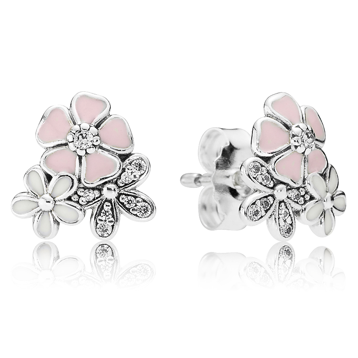 3b7cd437e pandora earrings dazzling daisy