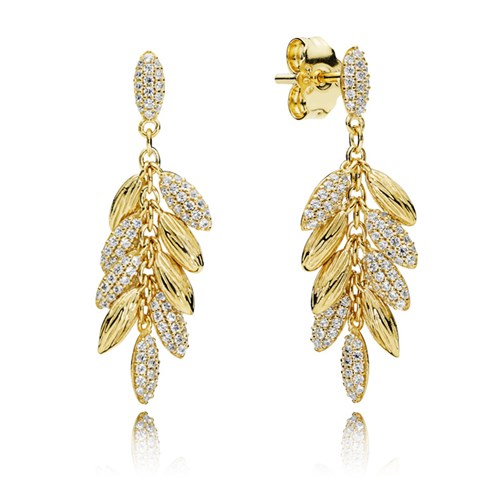 PANDORA Shine™ Floating Grains Earrings 267674CZ