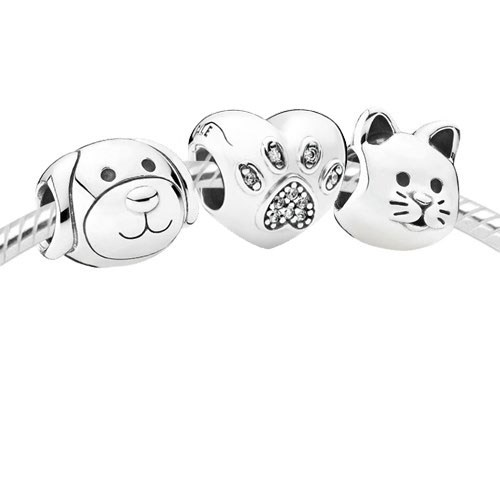 PANDORA Fur Family Set 3664