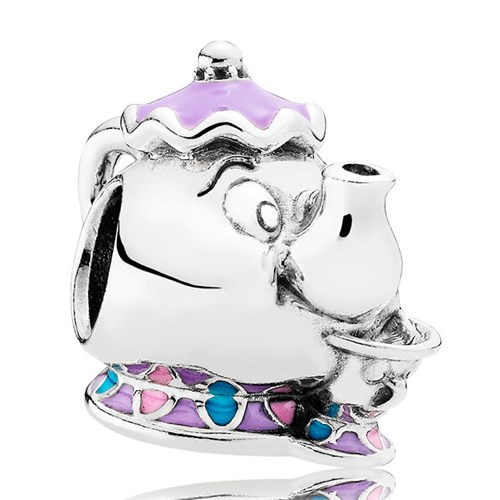 PANDORA Disney, Mrs. Potts & Chip Charm