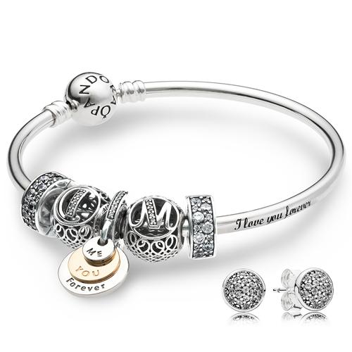 480ab59bb I Love You Forever Pandora Bracelet - Image Of Bracelet