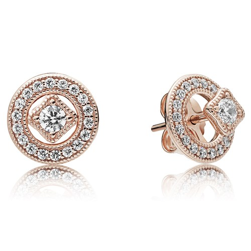 PANDORA Rose™ Vintage Allure Earrings 280721CZ